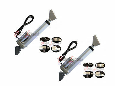 "2 Heavy Duty 2"" Linear Actuator w/Tilt & Mounting Brackets 12V 225lbs Max Pair"