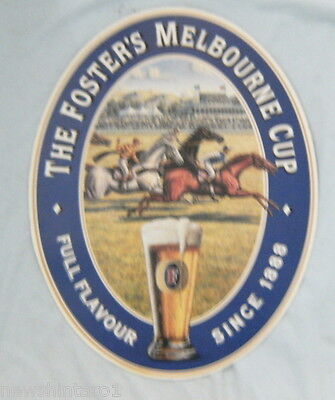 Foster's Beer Melbourne Cup Advertising Sign