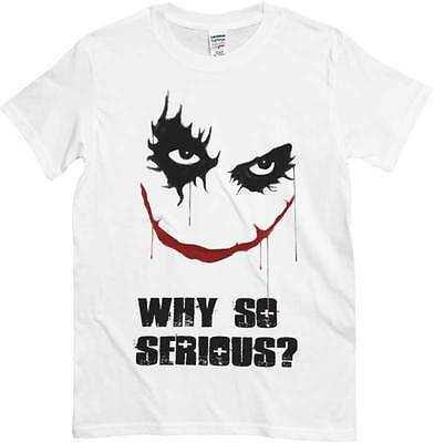 Bianca SmileScritta Shirt E So SeriousMaglietta Joker T Why wmn80vN