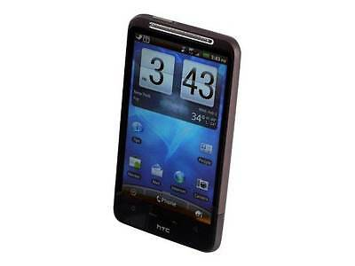 """Heavily Used  AT&T HTC Inspire 4G 4.3"""" Touch Screen SmartPhone GPS 8MP 720P HD"""