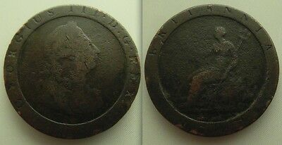 Collectable George III One Pence Coin Date`s 1797,