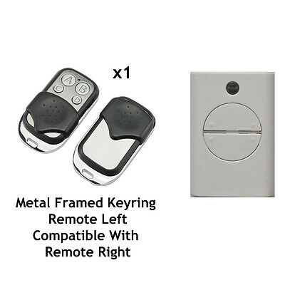 KEYFOB COMPATIBLE WITH WHITE FAAC REMOTE CONTROL FAAC XT4 433 RC 433 MHz  787452