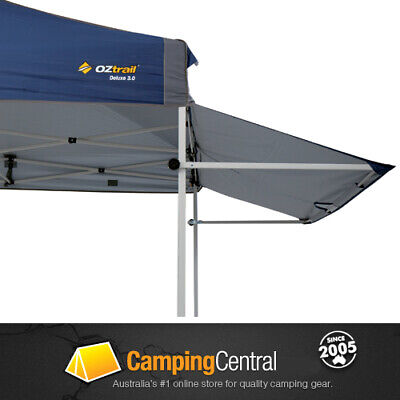 Oztrail Removable Awning (Blue) 3M Kit Deluxe Gazebo Awning