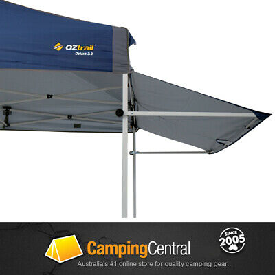 Oztrail Removable Awning (Blue) 3M Kit Deluxe Gazebo