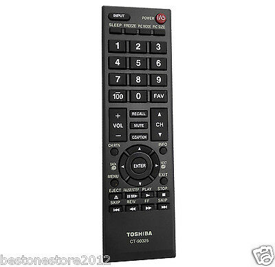 New TOSHIBA CT-90325 ct 90325 remote for 55G310U 55G310U1 55HT1 55HT1U 19AV600 t