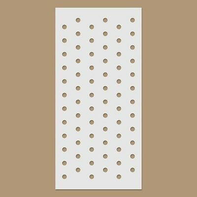 Polka Dots / Small Dotted Reusable Plastic Stencil
