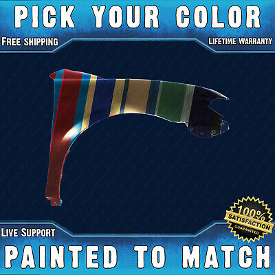 NEW Painted To Match - Passengers Front Right Fender for 2007-2011 Toyota Camry