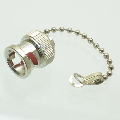 10pcs Dust cap with chain for BNC female RF connector plug