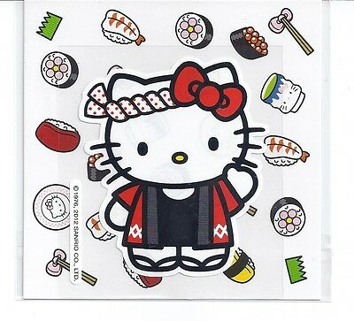 Sanrio Hello Kitty Stickers Japanese Hapi Coat