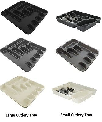 Small And Large Cutlery Tray Made In UK By Tontarelli Ideal For Kitchen Storage
