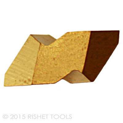 RISHET TOOLS NT-2R C5 Multi Layer TiN Coated Carbide Inserts (10 PCS)