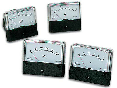 Velleman AIM60500 500mA DC Analog Current Panel Meter NEW!!!