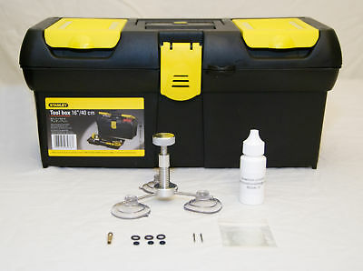 Economy Windshield Glass Repair Kit w/resin bits + more
