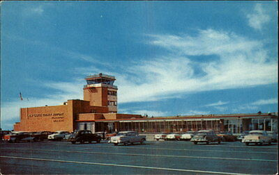 Wilmington DE Terminal Building at New Castle County Airport Airplane Postcard