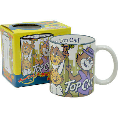 HANNA BARBERA TOP CAT MUG - Coffee Cup Tea Retro Design Topcat BNIB