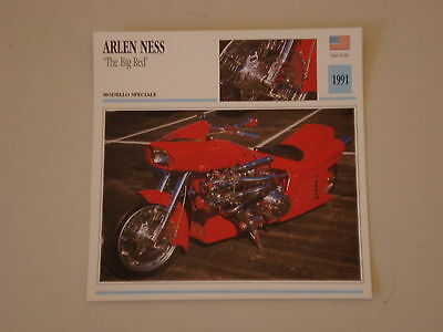 - scheda moto ARLEN NESS '' THE BIG RED ''