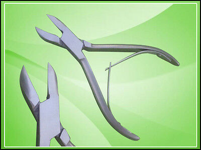 "Ingrown Toenail Nippers 5.5"" Dermal Podiatry Nail Tools"
