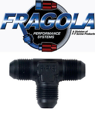 Fragola 482406 6 AN Aluminum Tee Hose Adapter Fitting IMCA USRA NHRA