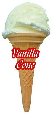 Soft Scoop Vanilla Ice Cream Sticker Large
