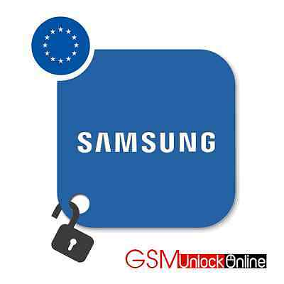 Unlock Code Service For Samsung Galaxy S8 S7 S6 S5 S4 S3 Ace Prime Note - Europe