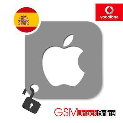 Premium Unlocking Service For iPhone 3G 3GS 4 4S 5 5S 5C 6 6+ Vodafone Spain