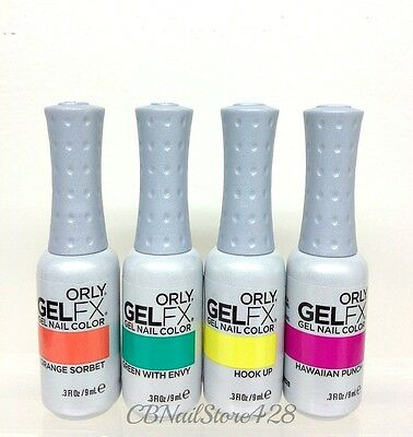 ORLY GelFX -Gel Nail Lacquer - Set of Any 4 Colors x 0.3 fl.oz