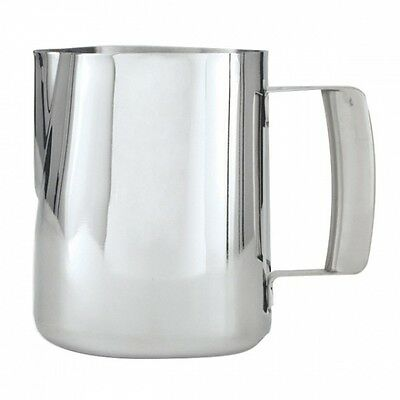 Stainless Steel Elite Hollow Handle  Milk Frothing Jug Pitcher 600ml Coffee