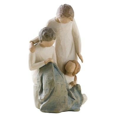 Willow Tree Generations Figurine 26197 Grandma Mum Daughter in Branded Gift Box