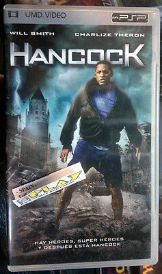 Hancock Umd Video Movie Pelicula Español Catalan English Italian Psp Will Smith