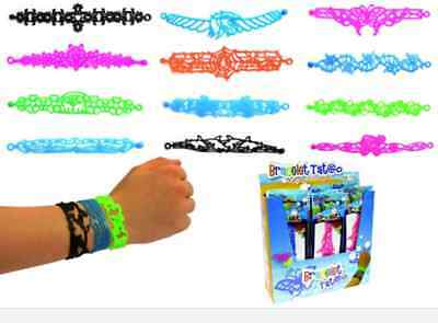 Bracelet Tatoo En Silicone Collectionne Les Echange Les Coloré Mode