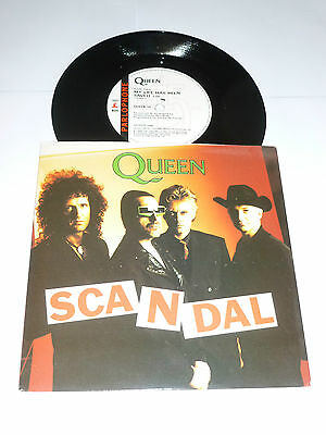 """QUEEN - Scandal - Rare 1989 UK limited edition 2-track 7"""" vinyl single"""
