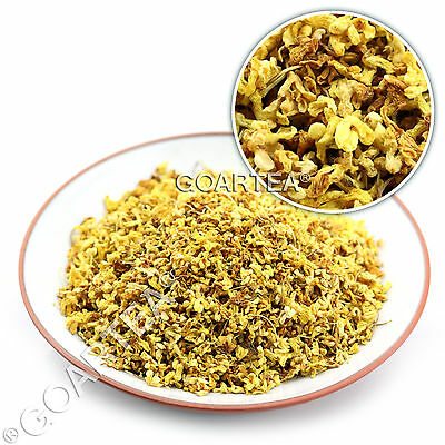 GOARTEA Organic Golden Sweet Osmanthus Fragrans Dried Chinese Herbal Flower Tea