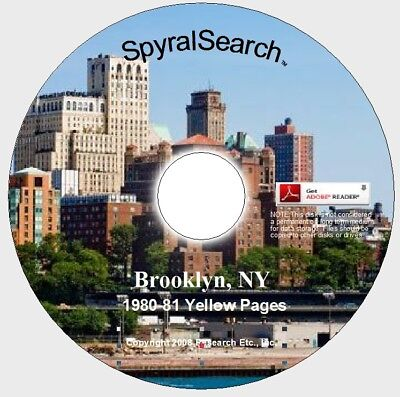 NY - Brooklyn 1980-81 Yellow Pages CD