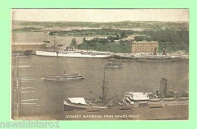 #b. Postcard - Sydney  Harbour From Dawe's Point, Shipping