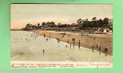 #b. 1906 New Zealand Postcard - Caroline Bay, Timaru