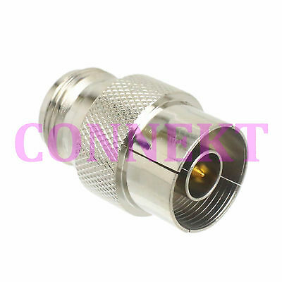 1pce N male plug to N female Push-On Quick Disconnect Adapter Connector snap-on