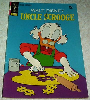 50/% off Guide Walt Disney/'s Uncle Scrooge 104 VG+ 4.5 Lemming with the Locket