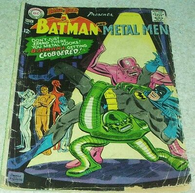 Brave and the Bold 74, GD+ (2.5) 1967 Metal Men! 50% off Guide!