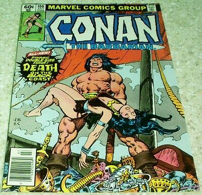 Conan the Barbarian 100, NM- (9.2) 1979 Death of Belit! 50% off Guide!