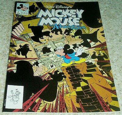 Walt Disney/'s Mickey Mouse Adventures 8 9.2 NM- 1991 Byrne cover!
