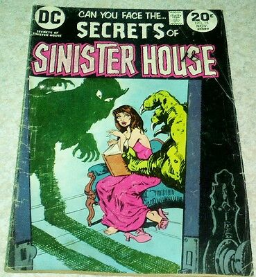 Secrets of Sinister House 15, VG (4.0) 1973, 50% off Guide!