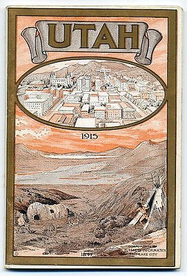 1915 Information and Tour Book for Utah