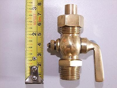 Brass 1/2Bsp  Fuel / Oil / Tap  Cock For Listers Steam Engine Stationery Engine