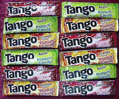 Tango Popping Candy, Mini Packs, Childrens Sweets Party Bag Filler, select 12/24
