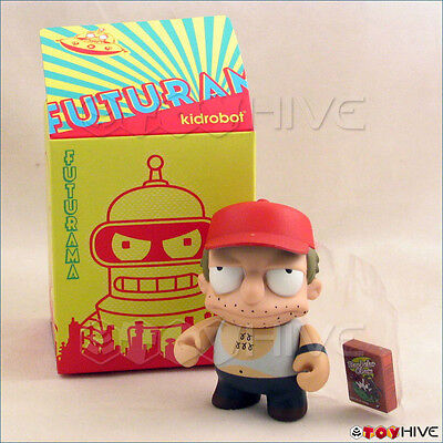 Kidrobot Futurama collection vinyl figure SAL opened to identify