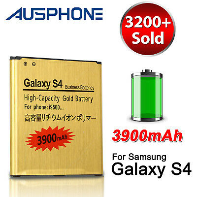 OZ High Capacity 3900mAh Li-ion for Samsung Galaxy S4 Battery Replacement I9500