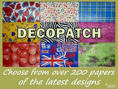 20 x Full Sheet Decopatch Papers Of Your Choice with FREE UK 1st Class Post