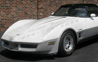 Corvette White Acrylic Enamel Single Stage Auto Body Shop Restoration Paint