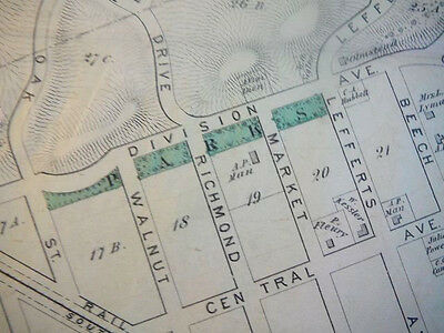 Richmond Hill, NY map from 1873 atlas