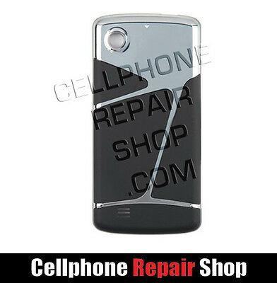 LG Chocolate Touch Battery Door Silver Black New OEM AX8575 VX8575 Battery Cover